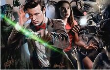 DOCTOR WHO ART PRINT 2 BY GREG HORN SIGNED 11x17