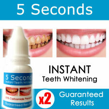 Teeth Whitening Kit Instant 5 seconds Best Home Bleach Carbamide Peroxide Gel 30