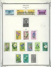 POLAND...#1053//1076...CTO...1962...15 Diff Commemoratives