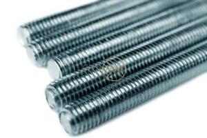 M5 - M24, Threaded Bar, All Thread Studding, Zinc, BZP, Steel, 4.8, Various Leng