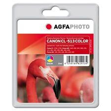 APCCL513C-CL-513 CARTUCCIA RIGENERATA AGFAPHOTO PER CANON PIXMA MP230 MP240 MP25