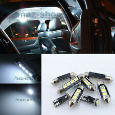 White Interior LED Light Package kit Error Free 16pc For 1999-2006 BMW E46