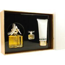 Marc Jacobs Daisy EDT Spray 3.4 oz & Luminous Body Lotion 5 oz & EDT .13 oz Mini