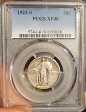 Silver PCGS Standing Liberty Quarters (1916-1930)
