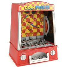 Coin Pusher Machine Arcade Game Novelty Table Top Penny Falls Toy Gift