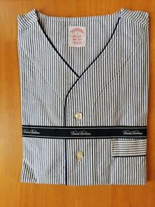 Brooks Brothers Men's Small All Cotton Striped Nightshirt