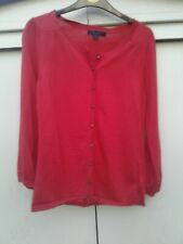 Beautiful Red BODEN Button Up Cardigan Size 10