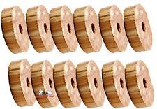 12 Stück Zedernholz Mottenschutz  Schrank Ringe für Kleiderbügel
