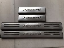 Stainless Steel Door Sill plate Guards Protector Cover For Honda Accord 2014-17