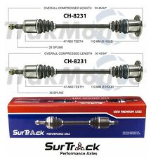 Dodge Grand Caravan Chrysler Town&Country 1997-00 AWD 2 Rear CV Axle Shafts Set