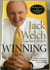WINNING  by Jack Welch with Suzy Welch - Hardcover