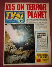 TV 21 #96 CENTURY FIREBALL XL5 STINGRAY THUNDERBIRDS DALEKS COLOUR DR WHO