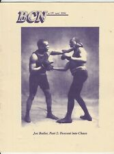 BOXING COLLECTORS NEWS JOE BUTLER COVER ISSUE #189  APRIL 2004