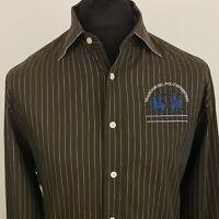 La Martina Buenos Aires Mens Casual Shirt XL Long Sleeve Regular Fit Striped