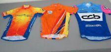 (3) Cycling Jerseys Men's M 2x Primal 3/4-Zip Courage Classic Garneau VW CCB