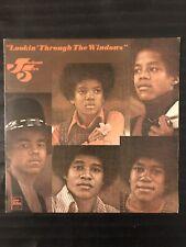 RARE 1972 MICHAEL JACKSON 5 UK IMPORT LP 1ST PRESS - LOOKIN' THROUGH THE WINDOWS