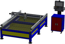 CNC Laser Cutting Table 2500x1500mm Plans Only