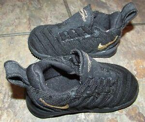 Nike LeBron XVI TD 16 LBJ Im King James Toddler Infant Shoes AQ2468-007 Size 4c