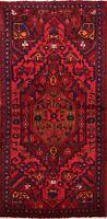 3x6 Geometric Hamedan Hand-knotted Area Rug Tribal Wool Oriental Kitchen Carpet