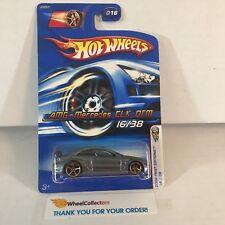 #6  AMG-Mercedes CLK DTM #16 * GREY w/ FTE Rims * 2006 Hot Wheels * WC3