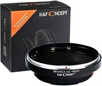 K&F Concept Lens Mount Adapter for Bronica SQ Lens to Mamiya 645 Pro Camera