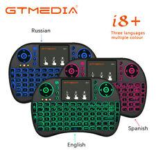 Mini 2.4G GTMedia i8 teclado inalámbrico Touchpad Handheld para TV box Air Mouse