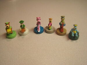 Wendys 1990 Yogi Bear and Friends - Complete Set of 6