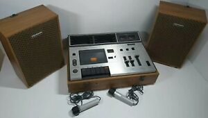 Sony Stereo Cassette-Corder TC-133CS Tape Recorder Tested With Speakers & Mics