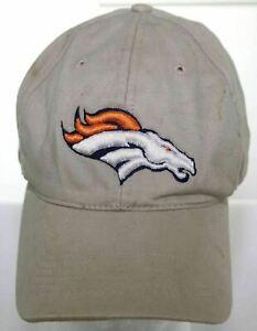 Denver Broncos Richardson NFL Football Hat - Beige Strapback Cap Adult One Size