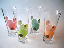 Tall Ice Tea glasses modern design