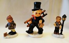Goebel Hummel Figurine Chimney Sweep,Holiday Bells,Slow And Steady-Lot Of 3