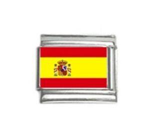 Italian Charms Charm Flags Spain Spanish Flag