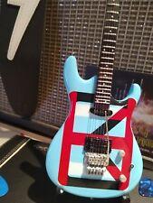 JOE SATRIANI - Ibanez Chickenfoot Blue 1:4 Scale Replica Guitar ~Axe Heaven