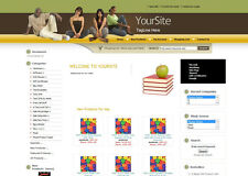 BOOKS STORE ECOMMERCE WEBSITE BUSINESS FOR SALE