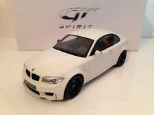 GT Spirit BMW 1M Alpine White with Black Wheels 1:18 Scale New Promotion Offer