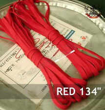 "134"" shoe lace KNEE HI 20-HOLE CONVERSE BOOTS VAMP RED"