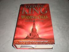 Stephen King Wolves of the Calla 1st First Ed HB 2003 The Dark Tower Illustrated