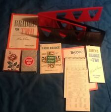 Gorens Bridge for Two Card Game Complete Milton Bradley 1964