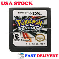 Pokemon Platinum Version Game Card For Nintendo 3DS 2DS DSI DS XL Christmas Gift
