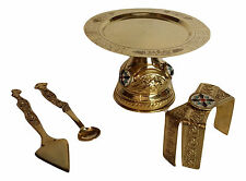 Orthodox church Shiny brass Chalice set Accessories