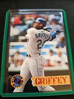1994 Topps Stadium Club Ken Griffey JR. Seattle Mariners #529