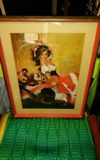 "Beatiful Print "" The Flamenco Dancer""Quality American Craftsman Style 7929D"