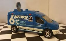MATCHBOX Ford Transit TV News Van Loose!!