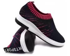 Tanggo Nettie Fashion Shoes Women's Korean Sneakers Slip-On's BLACK/PINK SIZE 38