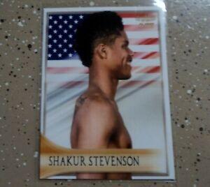Shakur Stevenson 2020 4LUVofBOXING Elites Boxing card series new