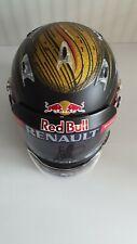 Signed Sebastian Vettel Arai half scale helmet F1 2013 1:2 Red Bull Limited