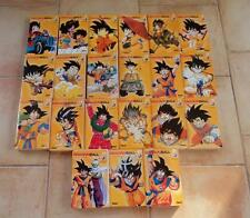 Dragon Ball Z 21 Mangas Vol 1 à 21 Complet / VF Double Edition collection Glénat