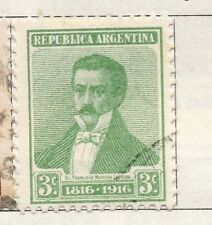 Argentine Republic 1916 Early Issue Fine Used 3c. 095948