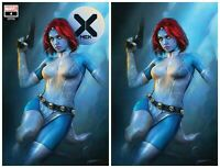 X-MEN #4 DX SHANNON MAER TRADE/VIRGIN VARIANT SET LIMITED TO 600 SETS W/COA