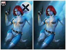 X-MEN #4 DX SHANNON MAER TRADE/VIRGIN VARIANT SET LIMITED TO 600 SETS W/COA